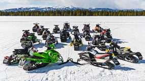 Members of the United Snowmobile Alliance